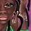 """Thumbnail: """"The First Time He Told Me He Loved Me"""":African Girl African Art"""
