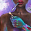 Thumbnail: African Girl, African Art, African Painting, Abstract Art, Abstract Po