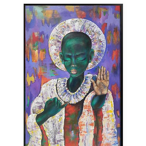African Girl African Art, African Portrait