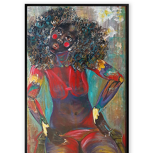 """Colored Girl #5""""Nothing to Hide"""""""