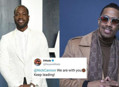 Dwayne Wade Snatches Back Support of Nick Cannon