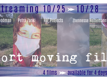 Estro 2020: Short Moving Films Are LIVE HERE until 10/28!