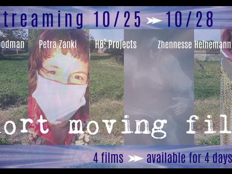 Estro 2020: Short Moving Films Are LIVE HERE until 10/28!