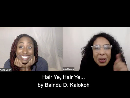 ESTRO-READ | HAIR YE, HAIR YE.... by Baindu D. Kalokoh