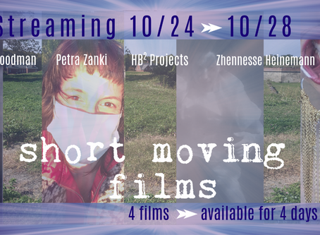 Estro 2020: Short Moving Films Go Live on Oct 24