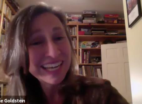 estro-talk | Jenny chats with Playwright Dana Goldstein