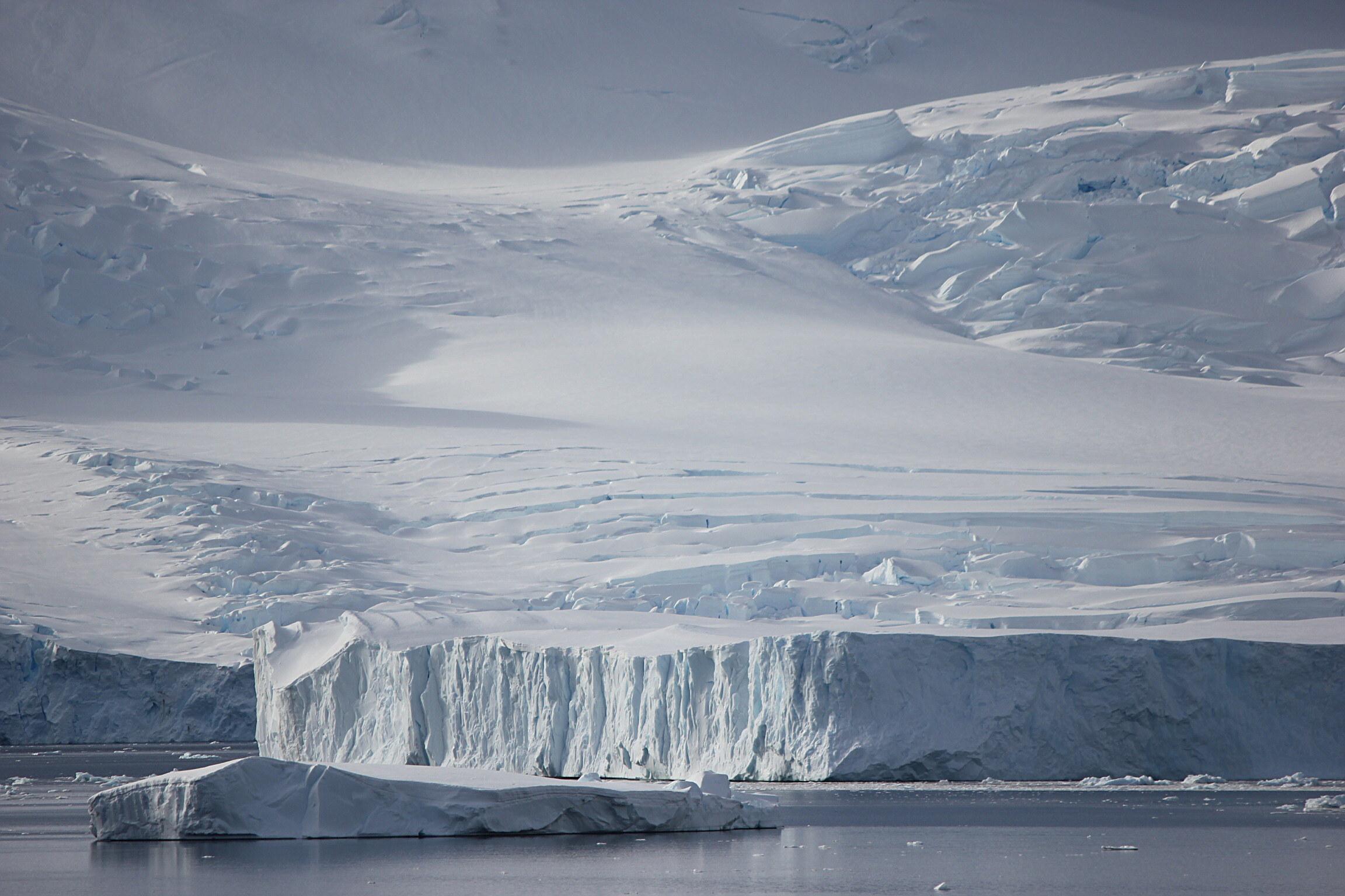Glacier and Iceberg