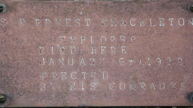 A Night Beside Shackleton's Grave