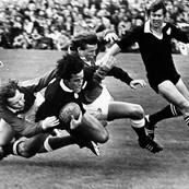 New Zealand vs West Wales, St. Helens, Swansea, Wales,1978