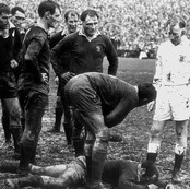 NZ vs Wales, 1st Test, Lancaster Park, Christchurch, New Zealand, 1969