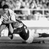 NZ vs Scotland, Carisbrook, Dunedin, New Zealand, 1990