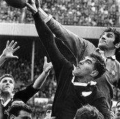 NZ vs France, 2nd Test, Athletic Park, Wellington, New Zealand, 1968