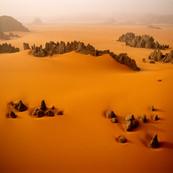 Sandstone Pinnacles, Karnasai Valley, Chad