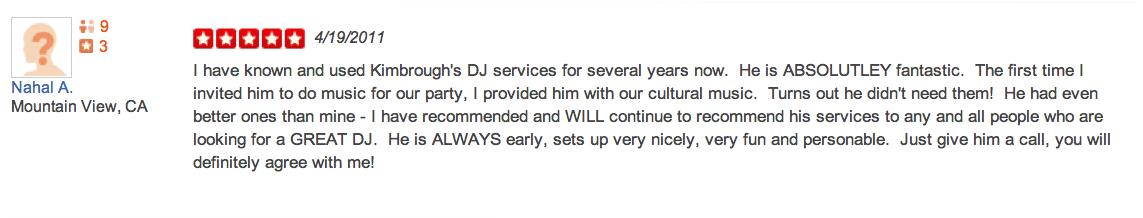Nahal Ashouri-5-Star-DJ-Kimbrough-Yelp-Review