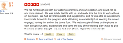 Ed LaCombe-5-Star-DJ-Kimbrough-Yelp-Review