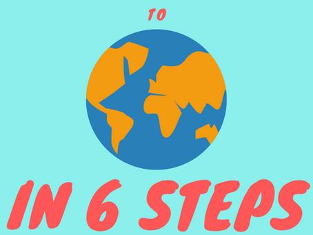 6 Bước Để Đưa Ý Tưởng Của Bạn Đến Với Thế Giới!