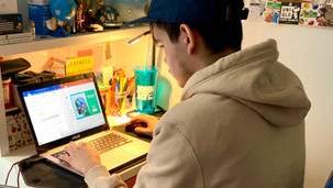 CUNY students are adapting to online learning due to the coronavirus pandemic.