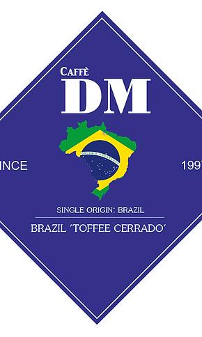 BRAZIL 'TOFFEE CERRADO' 1kg