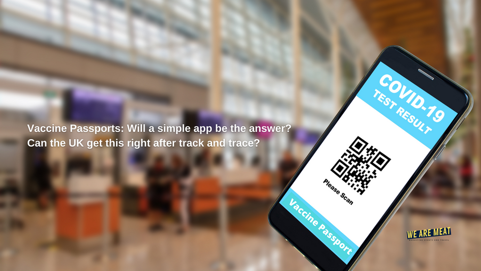 Vaccine Passports: Will a simple app be the answer?