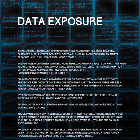 Brochure Design For Top Cyber Defence Company