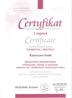 certyfikat skóra