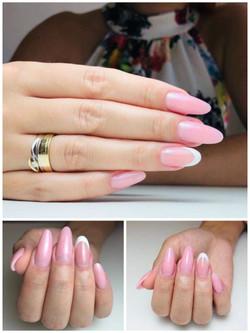 Kobieteria manicure Akrylo żel