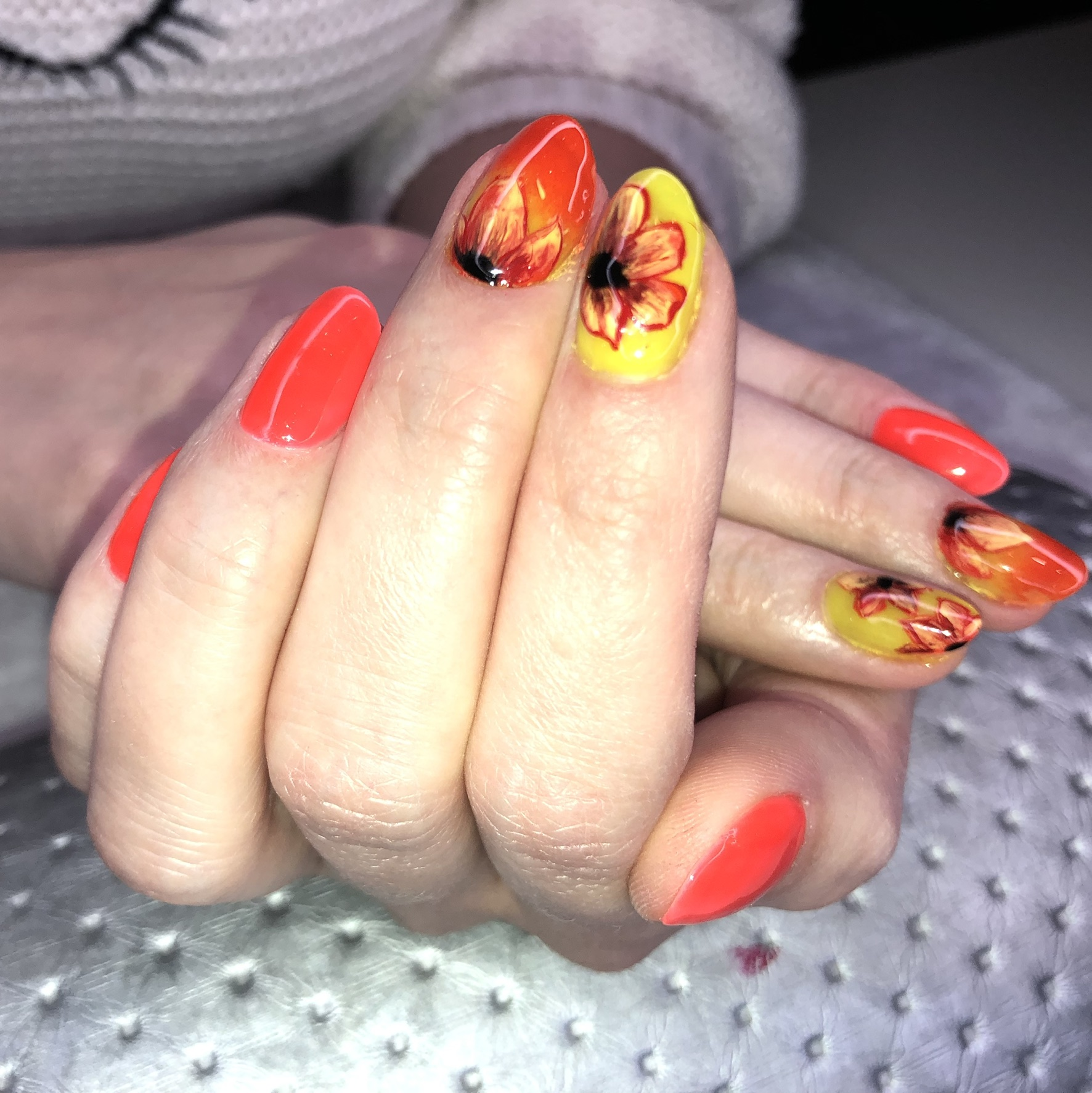 Kobieteria manicure