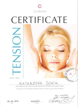 certificate katarzyna sonik