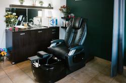 Salon Kobieteria fotel do zabiegów