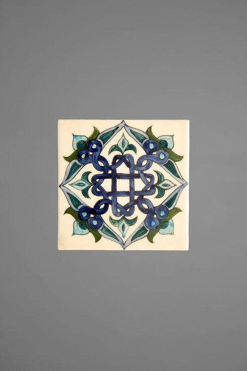 T1 Blue Armenian Ceramic Tile