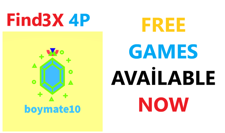 Find3X 4P ,Free Game Now Download