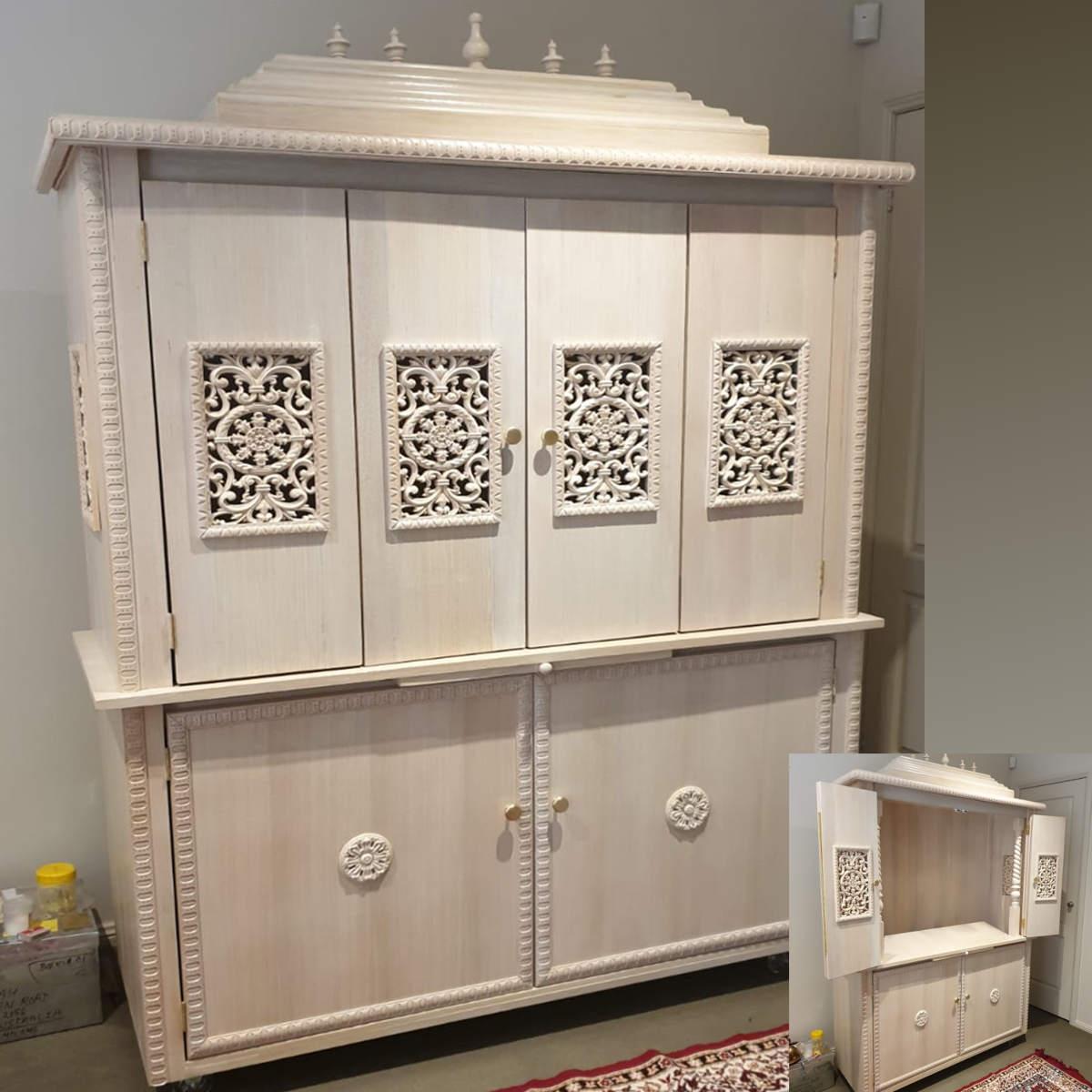 Customer Design White Jain Temple
