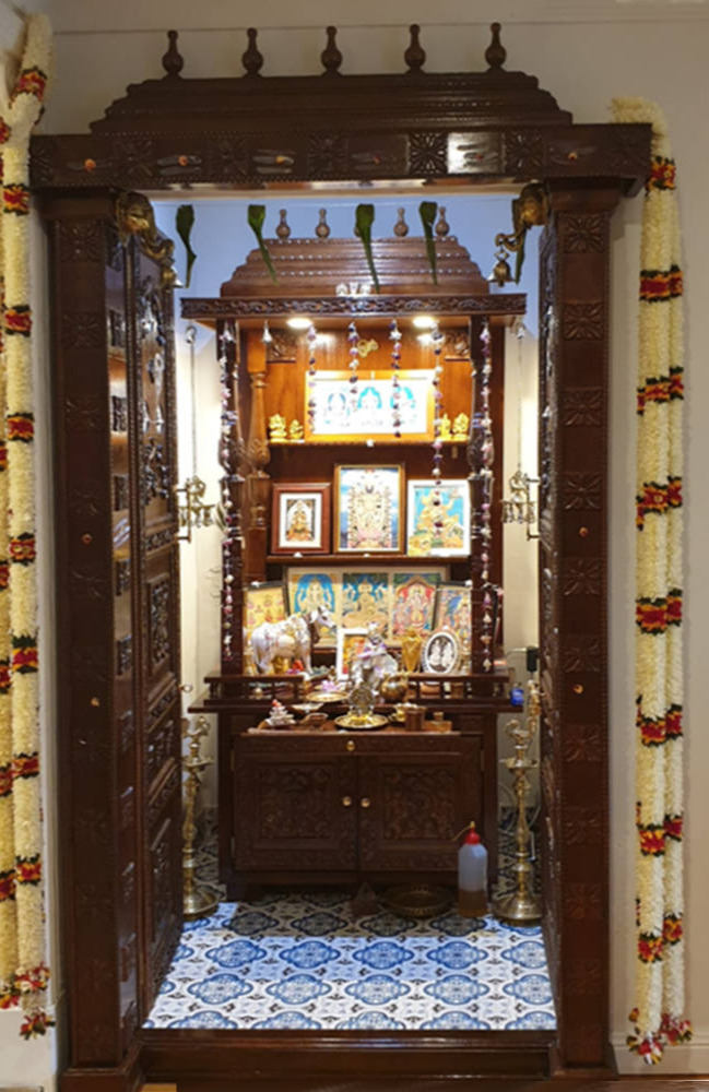 Customer Order-Carved Doors and Mandir