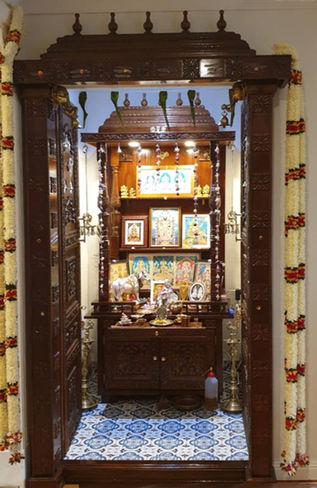 Puja Room Door & Temple