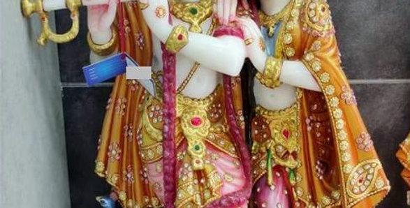 Krishna Radha Idol 21in
