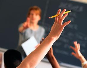 Lærer i klasserommet