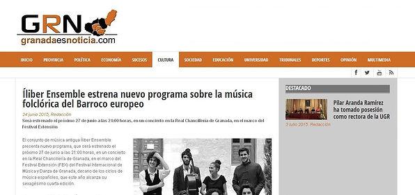 Íliber Ensemble - Granadaesnoticia.com