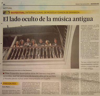 Íliber Ensemble - Granada Hoy