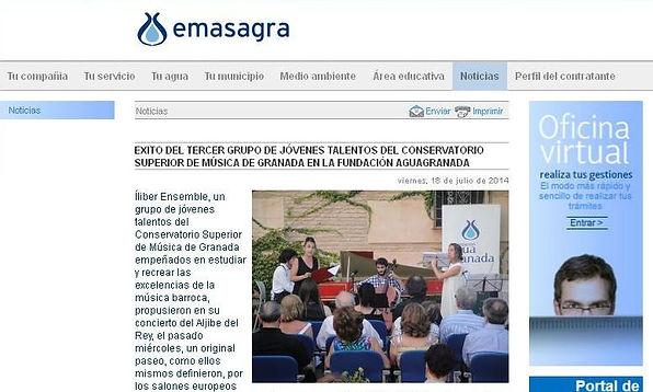 Íliber Ensemble - Emasagra.es