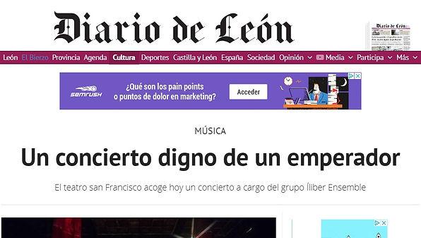 Un concierto digno de un emperador | Diario de León