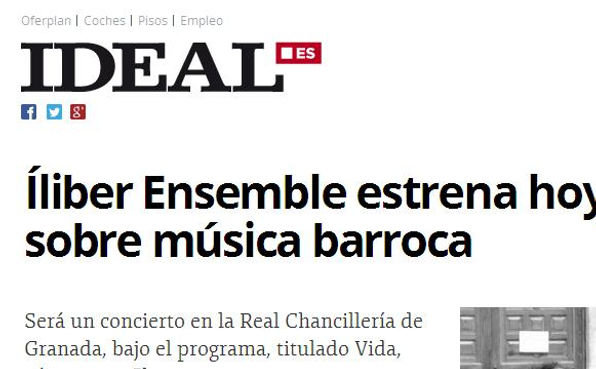 Íliber Ensemble - Ideal.es