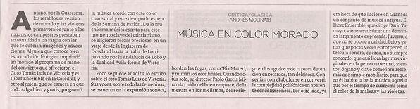 Música en color morado | Ideal