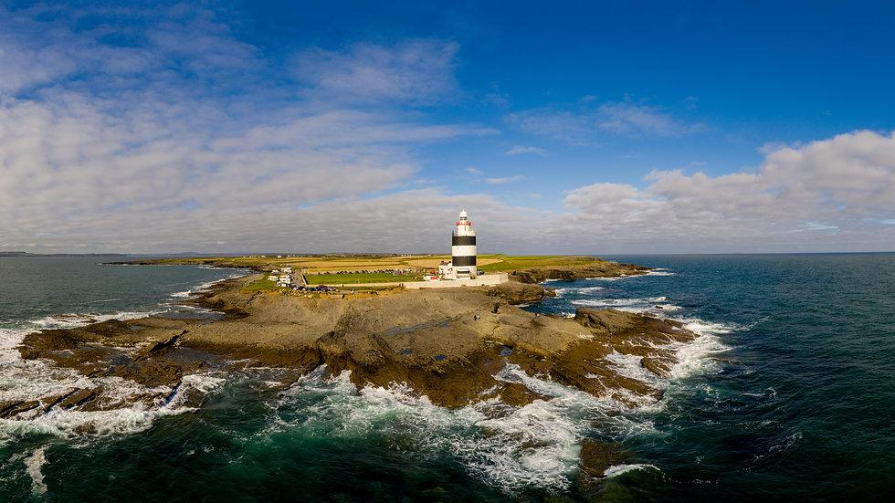 Hook Head Lighthouse panoramic