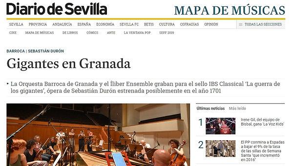 Gigantes en Granada | Diario de Sevilla