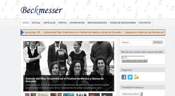 Íliber Ensemble - Beckmesser