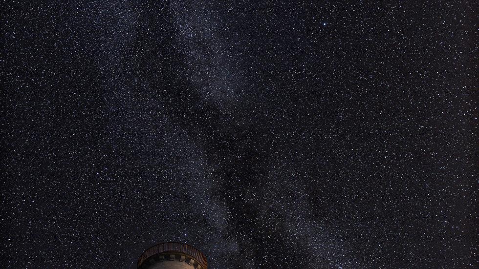 Milky way over Wicklow Head