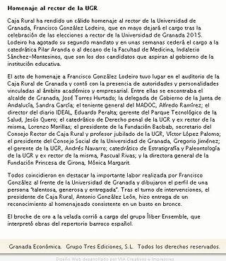 Íliber Ensemble - Granada Económica