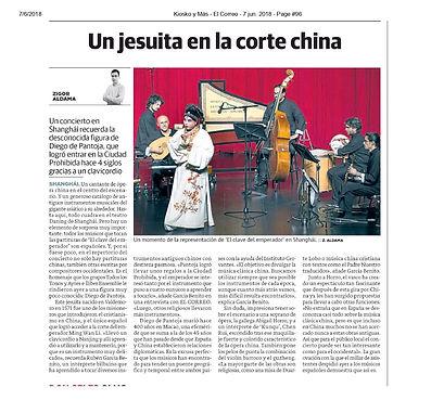 Un jesuita en la corte china | Zigor Aldama - El correo