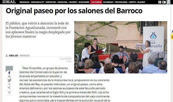 Íliber Ensemble - Ideal.es