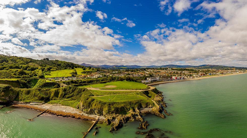 Bray Head & Promenade panoramic
